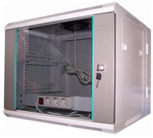 LC-R19-W9U550 GFlex Dragon D dzielona - Wiszące szafy teleinformatyczne 19