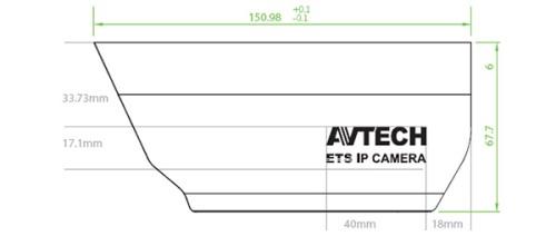 AVTECH AVM357 Mpix - Kamery zintegrowane IP
