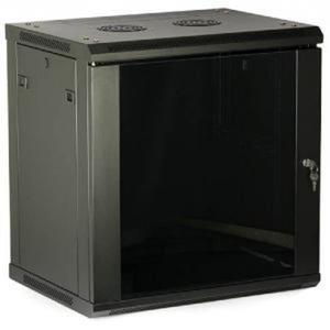 LC-R19-W12U450 GFlex Tango S czarna - Wiszące szafy teleinformatyczne 19