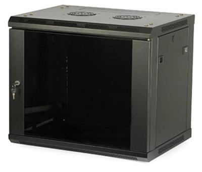 LC-R19-W22U450 GFlex Tango S czarna - Wiszące szafy teleinformatyczne 19