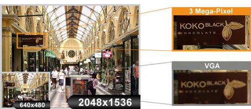 ACTi D32 Mpix - Kamery zintegrowane Mpix