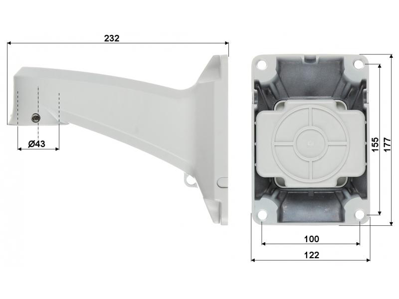 EL-IP S230 22x - Kamery obrotowe Mpix