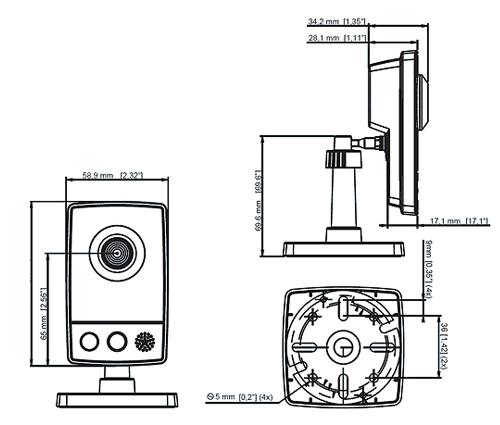 AXIS M1011-W - Kamery zintegrowane IP