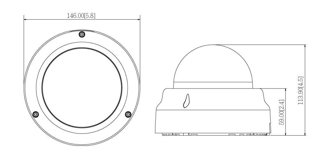ACTI D65 - Kamery kopułkowe IP