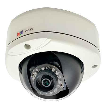 ACTi E75 - Kamery kopułkowe IP