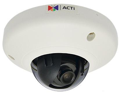 ACTi E93 - Kamery kopułkowe IP