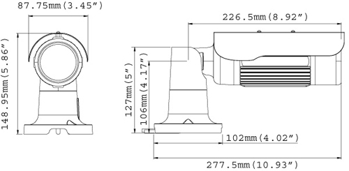 GV-BL1200 Mpix - Kamery zintegrowane IP