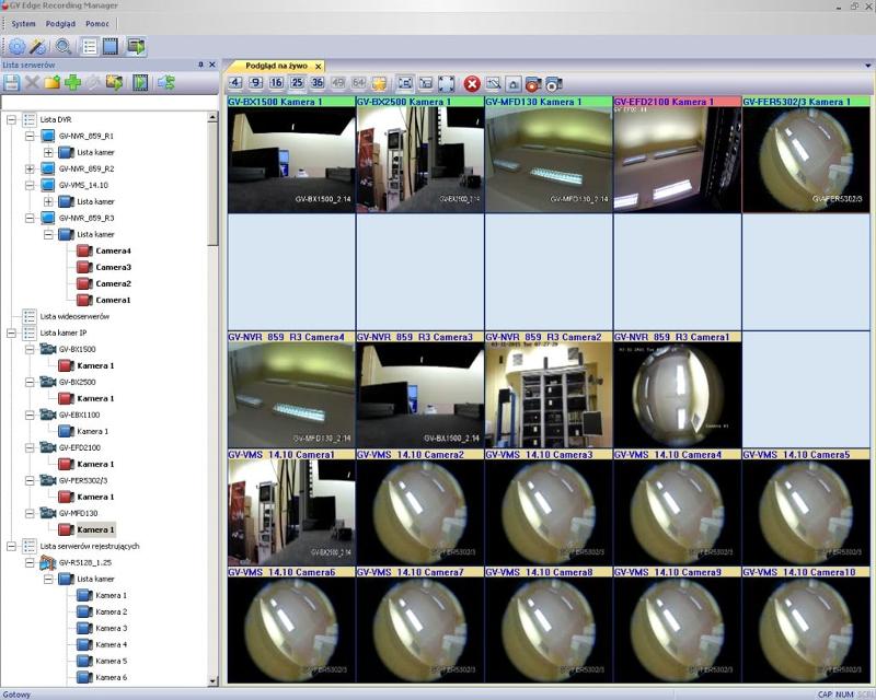 GV-ERM/64 - Oprogramowanie NVR i CMS