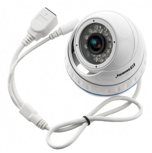 LC-244-IP PoE - Kamery kopułkowe IP