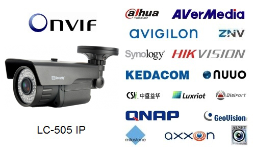 LC-505 IP 5 Mpix - Kamery zintegrowane IP