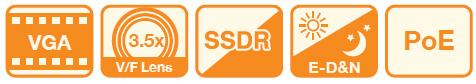 SND-1080 - Kamery kopułkowe IP