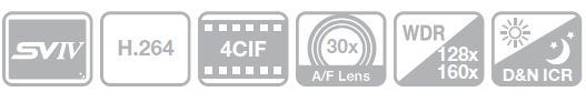 SNP-3301H - Kamery obrotowe IP