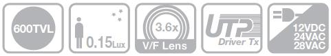 Samsung SUD-2080F - Kamery kopułkowe