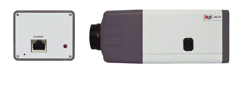 ACTI D22 z obiektywem zmiennoogniskowym - Kamery kompaktowe IP