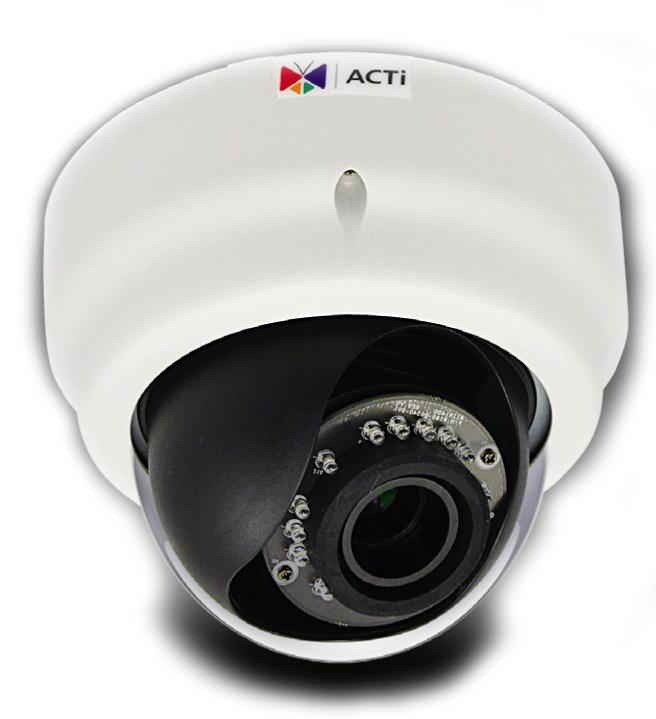 ACTi D64A - Kamery kopułkowe IP