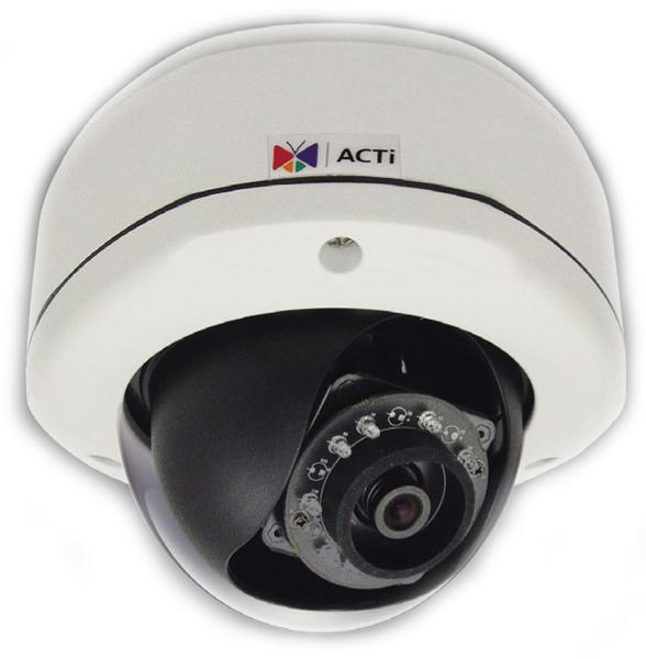 ACTI D72 - Kamery kopułkowe IP
