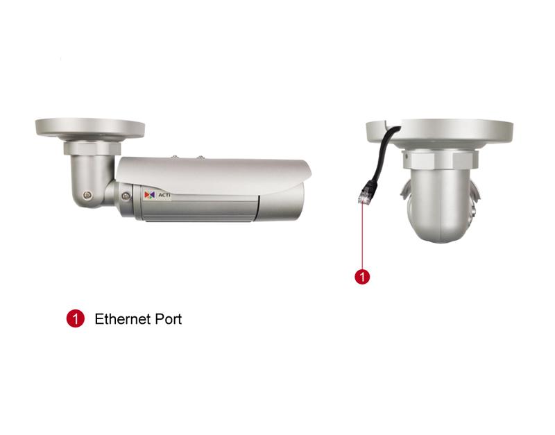 ACTi E44A - Kamery zintegrowane Mpix