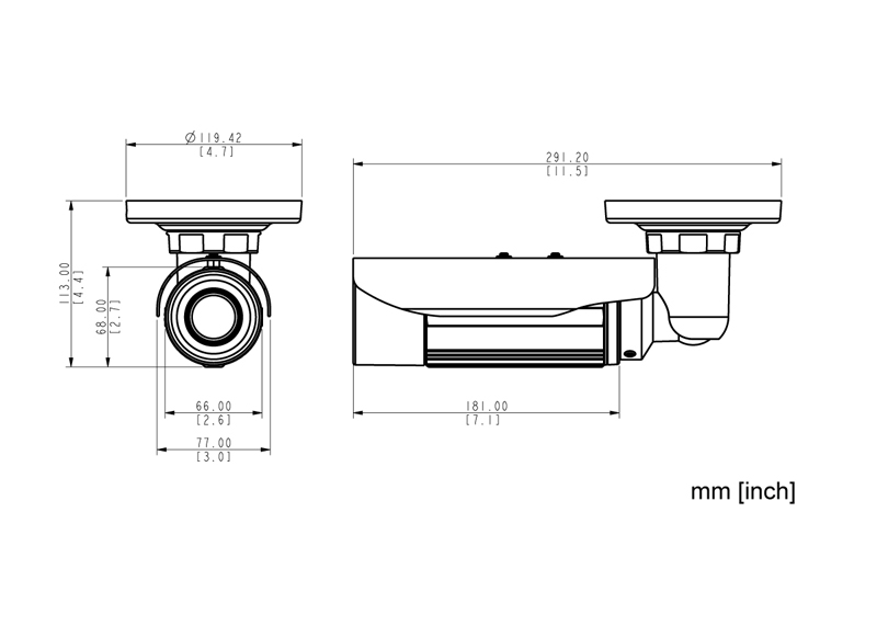 ACTi E46 - Kamery zintegrowane Mpix