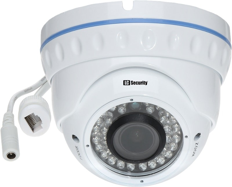 LC-344 IP - Kamera sieciowa 3 Mpix - Kamery kopułkowe IP
