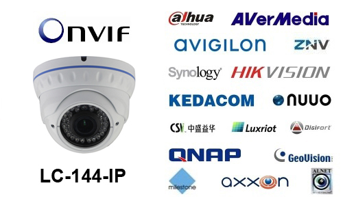 LC-144-IP - Kamery kopułkowe IP