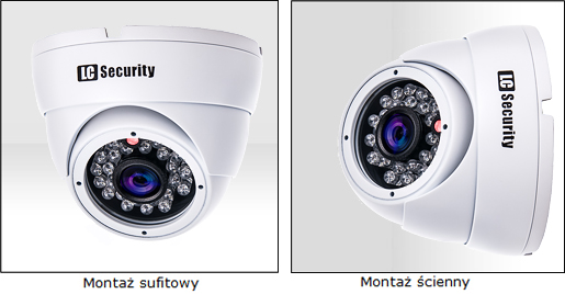 LC-698FISHEYE EFFIO - Kamery kopułkowe